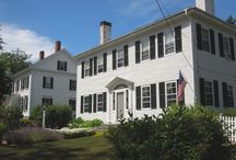 Beautiful Architecture of Castine / Pristine preservation of 18th and 19th century Georgian and Federal homes, alongside seaside cottages and churches, complimented by a walkable village of shops, galleries, churches and historic sites is what you'll find in Castine, Maine.