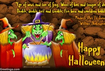 Halloween...Its a scary time / by Richard Eley