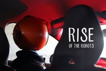 Rise of the Robots / A short film by Jan De Coster about the robot's point of view on climate change  A small robot talks to his imaginary friend about what will be or what could be. Even when humans completely mess up this planet, robots will still be there to bare human culture and heritage. In the meantime they still have a lot to learn from us.