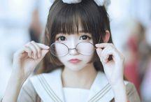Japan girl cosplay