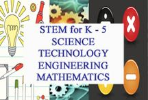 STEM for K to 5 / STEM for K to 5 Science, Technology, Engineering, and Mathematics curated for elementary teachers by www.treetopsecret.com.  Please visit my blog for more ideas to help you and your students, Veronica at TreeTop. / by Tree Top Secret Education
