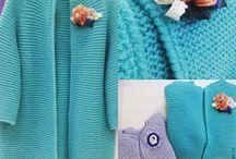Вязанная одежда