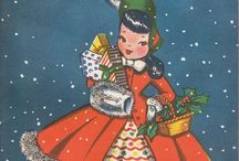 Christmas Vintage / Vintage Christmas Cards / by Becky Smith