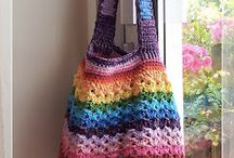 Crochet bags and bowels boxes