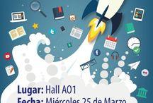 La Biblioteca sale a tu encuentro / Exposición de material bibliográfico en hall AO1, el día miércoles 25 de marzo de 11:00 a 20:00 hrs.