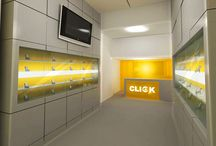 Click Showroom - Marje / Category: Retail Client: Click Showroom - Marje Area Space: 50 sq. meter Year of completion: 2012