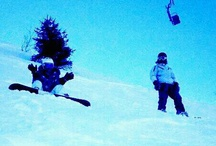 Snowboard ♥ / Somewhere is snowing...Someone is having fun!