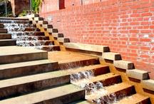 schody woda