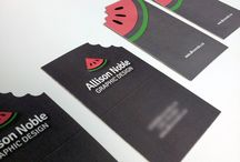 Business Cards / design graphic project