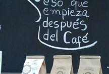 Disfruta un café