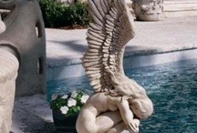 Statuary / for the garden / by Mary Long