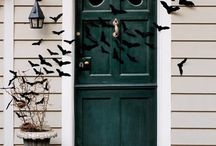 Halloween Front Door Display / by Brooklyn Limestone