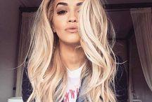 Włosy, kolorki, fryzurki