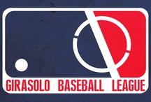 """Liga Girasolo de Béisbol / Hace un año, Grupo Delta nos pidió que adaptaramos su logotipo al estilo de """"baseball"""" para un proyecto de recursos Humanos, el resultado nos pareció espectacular, así que decidimos imaginar: ¿Qué pasaría si las empresas más representativas de La Piedad, Michoacan jugaran en una liga de baseball? El resultado es fascinante. ¿Qué empresas crees que faltó? Si te gustó el proyecto: comparte."""