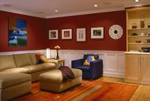 HOME: Basements / A place to play, to gather, and even entertain!