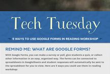 What the Tech? / A collection of the tech shares and PD day session resources that I have facilitated to support teachers and students as they delve into digital learning.
