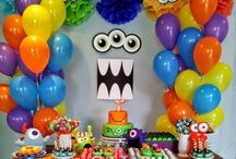 fiesta tema monster