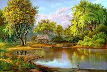 retro krajinky