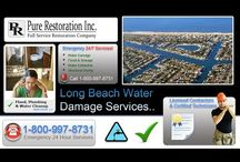 Long Beach - Water Damage Restoration Service / Proudly serving Long Beach for Water Damage Restoration, Emergency Flood Removal and Sewage Cleanup Services! Call us anytime at 1-800-997-8731..