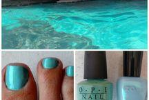 Favorite Nail Colors / Beautiful nail polish colors I love