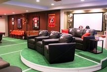 Must Have Man Caves & Gear / Man cave photos, featuring work done by the members of Expert Trades or interesting items to help inspire you to get your dream man cave.