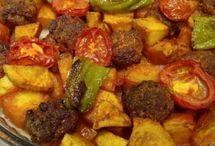 kofteli-kiymali-etli-dolma-manti-meals / dolmamanticiğer