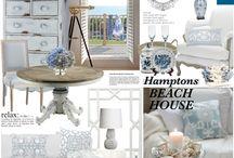 Hamptons beach houses