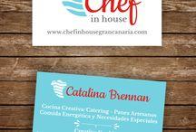 tarjetas de presentacion chef