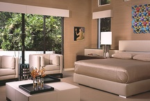 """High-End Bedrooms / State-of-the-art furnishings and amenities provide functionalism and """"the wow factor"""" to these fabulous spaces, and capitalize on spectacular architectural features. Shuster Design is a high-end interior design firm located in Wilton Manors, Florida."""