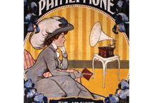 kedvenc plakátok / Gramofon, fonográf, pathefon képek