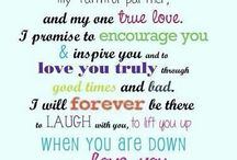 To my dearest husband