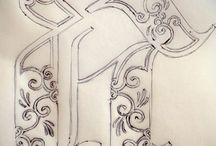 lettering :: details
