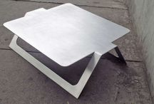 minimalistiske metall møbler