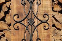 metal wood art
