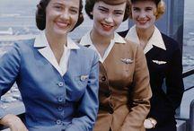 Retro stewardessy