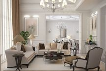 Classic Style House / Elegant style restrained classical interior in private house  #design #interior #house #classic #style #render #3d #interiorhouse #classicinterior #privatehouse #designhouse #housedecor