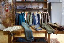 Koffie- en kledingzaak / Hapje drankje gewone kleding en sportkleding