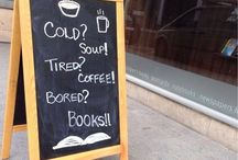 coffee book shop