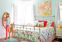 Tween girl rooms / Bedroom design / by Kelly Bird