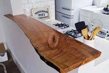 Slabs of wood ideas