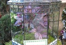 stained glass house