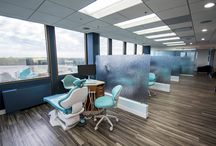 Open Bay Dental Office Designs / Some contemporary, modern, whimsical open bay interior designs