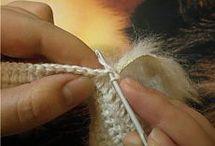 вязание с мехом