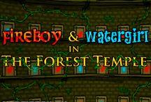 Игры с Огонь и Вода / Картинки из онлайн игр на двоих Огонь и Вода