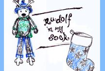 Rudolf in my Sock / 2015 Christmas Project