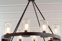 burks outdoor chandelier