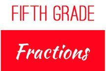 Fifth Grade: Fractions