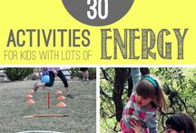 Gross Motor / Activity ideas to boost your child's gross motor abilities.