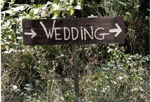 Señalización de boda