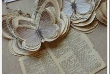 farfalle di giornale